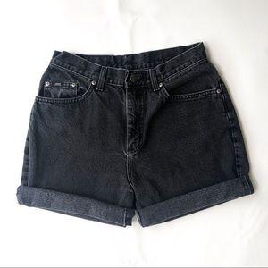 Vintage high waisted Lee shorts